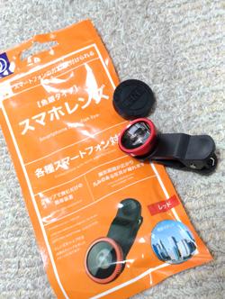 100円の魚眼レンズ